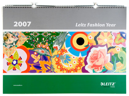 Календарь Leitz Fashion Year 2007